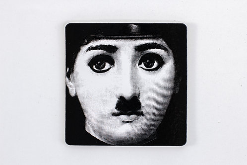 glass coaster / fornasetti #24