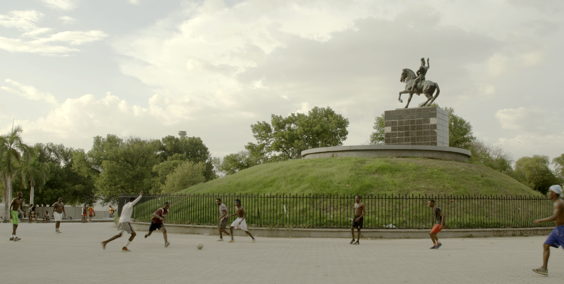 soccer and Dessalines