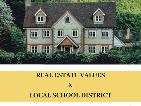 Real Estate Values & Local School Districts: What Do You Need to Know?