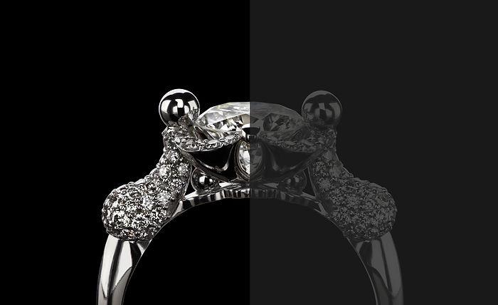 Кольцо New Life с бриллиантами от Hako HamHov