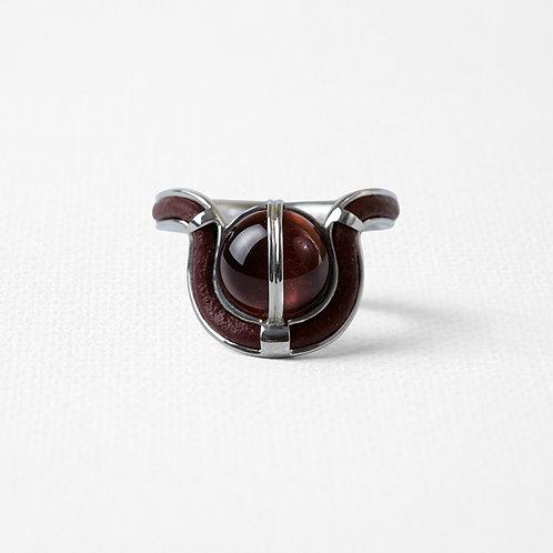 Узкое кольцо OCULUS с бычьим глазом