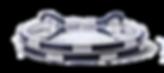 Серебряный браслет XV с кожаными вставками от Hako HamHov