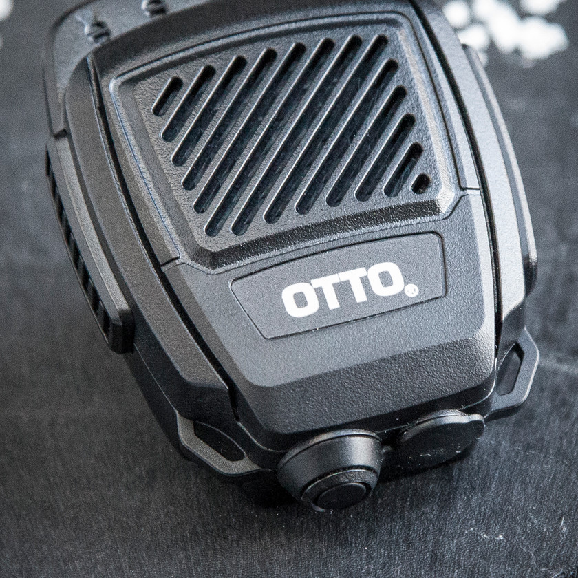 OTTO Bluetooth Revo NC2 Blackline simulations tactical zello accessories speaker microphone STD-MIL-810G front airsoft milsim review
