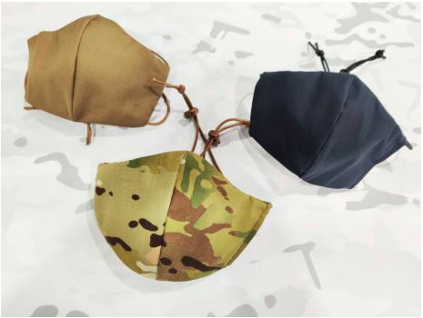 Blackline Simulations - Blog - Tactical face masks covid-19 face covering camouflage balaclava respirator DS Tactical Multicam Coyote