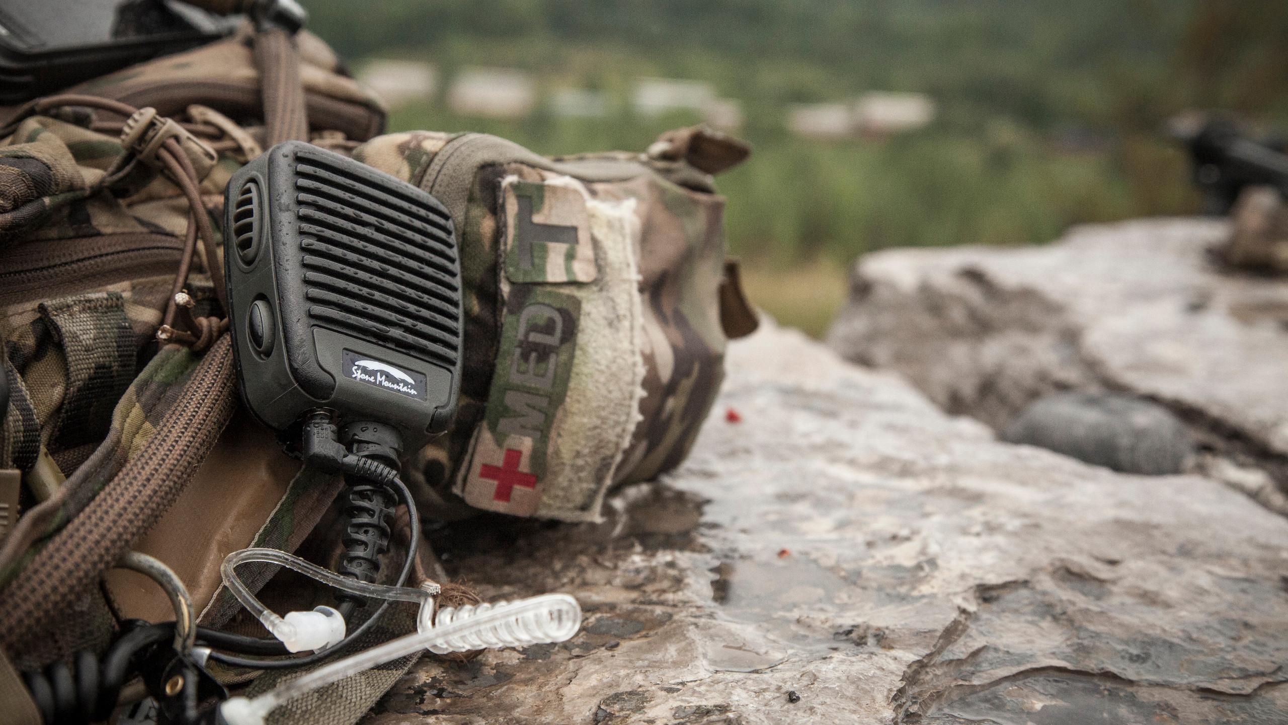 Stone Mountain Ltd Phoenix Elite PoC RSM speaker microphone Blackline simulations airsoft military simulations tactical zello accessories review