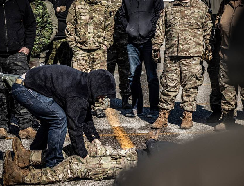 EPW Handling Training Blackline Simulations Airsoft Milsim Military - Rules