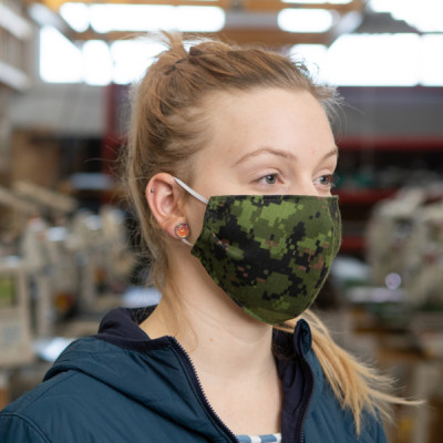 Blackline Simulations - Blog - Tactical face masks covid-19 face covering camouflage balaclava respirator CP Gear CADPAT TW