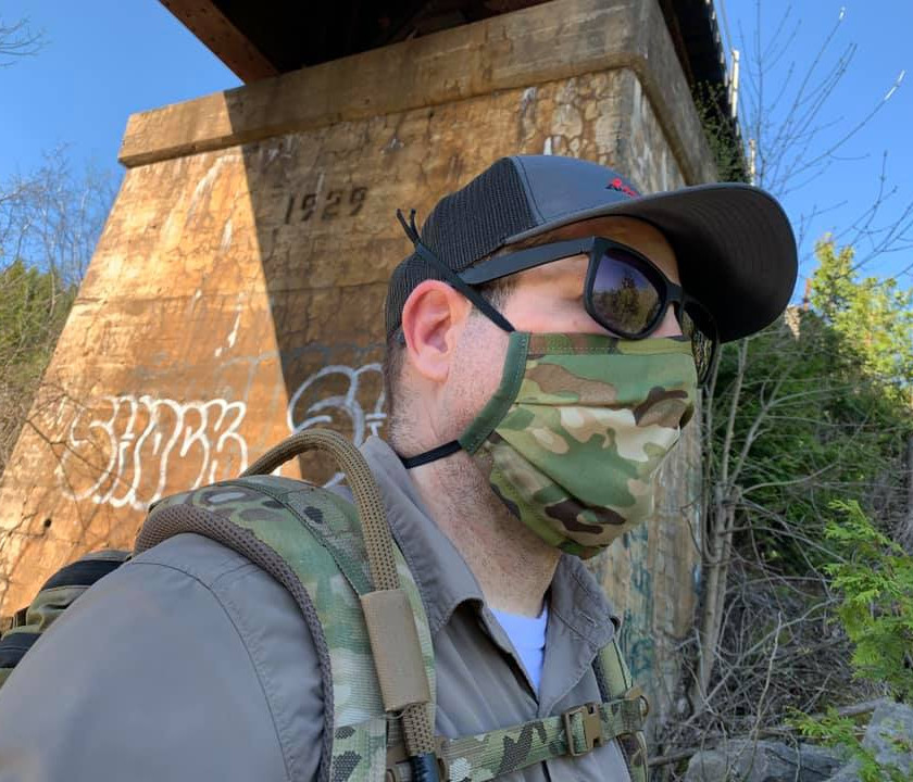 PERSEC Gear Surgical Face Mask Multicam - Blackline Simulations - Blog - Tactical face masks covid-19 face covering camouflage balaclava respirator