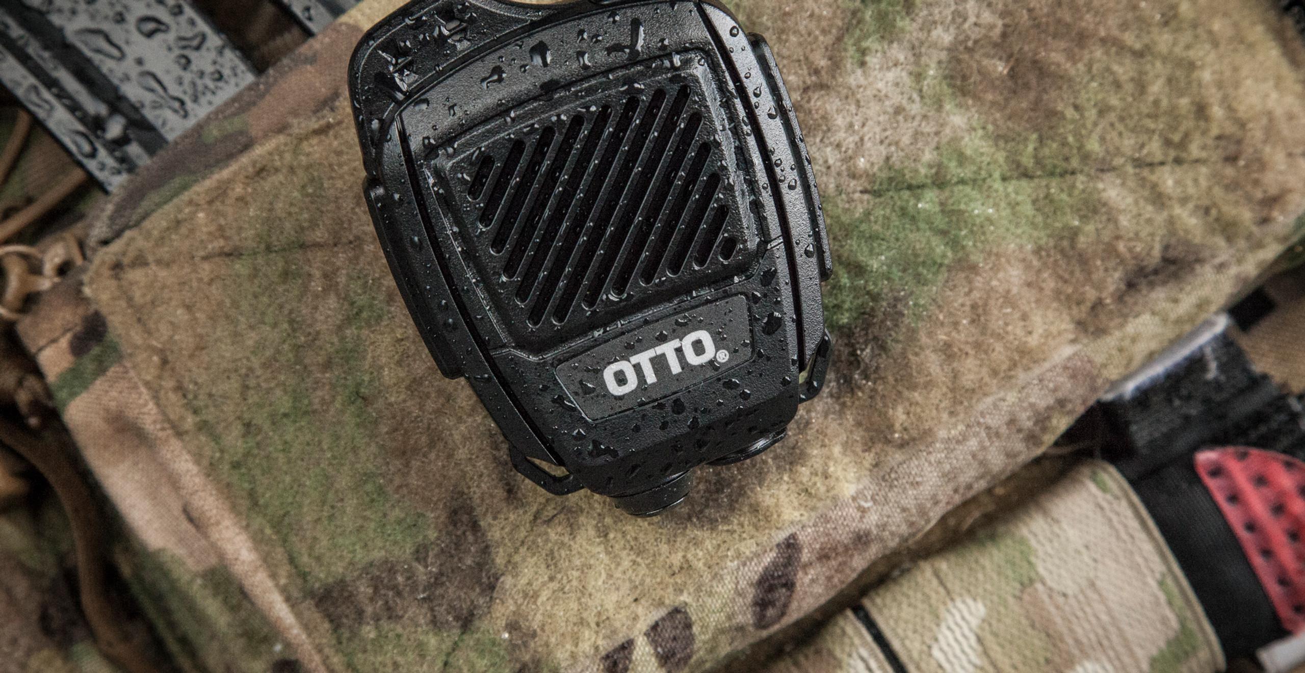 OTTO Bluetooth Revo NC2 Blackline simulations tactical zello accessories speaker microphone STD-MIL-810G airsoft milsim review
