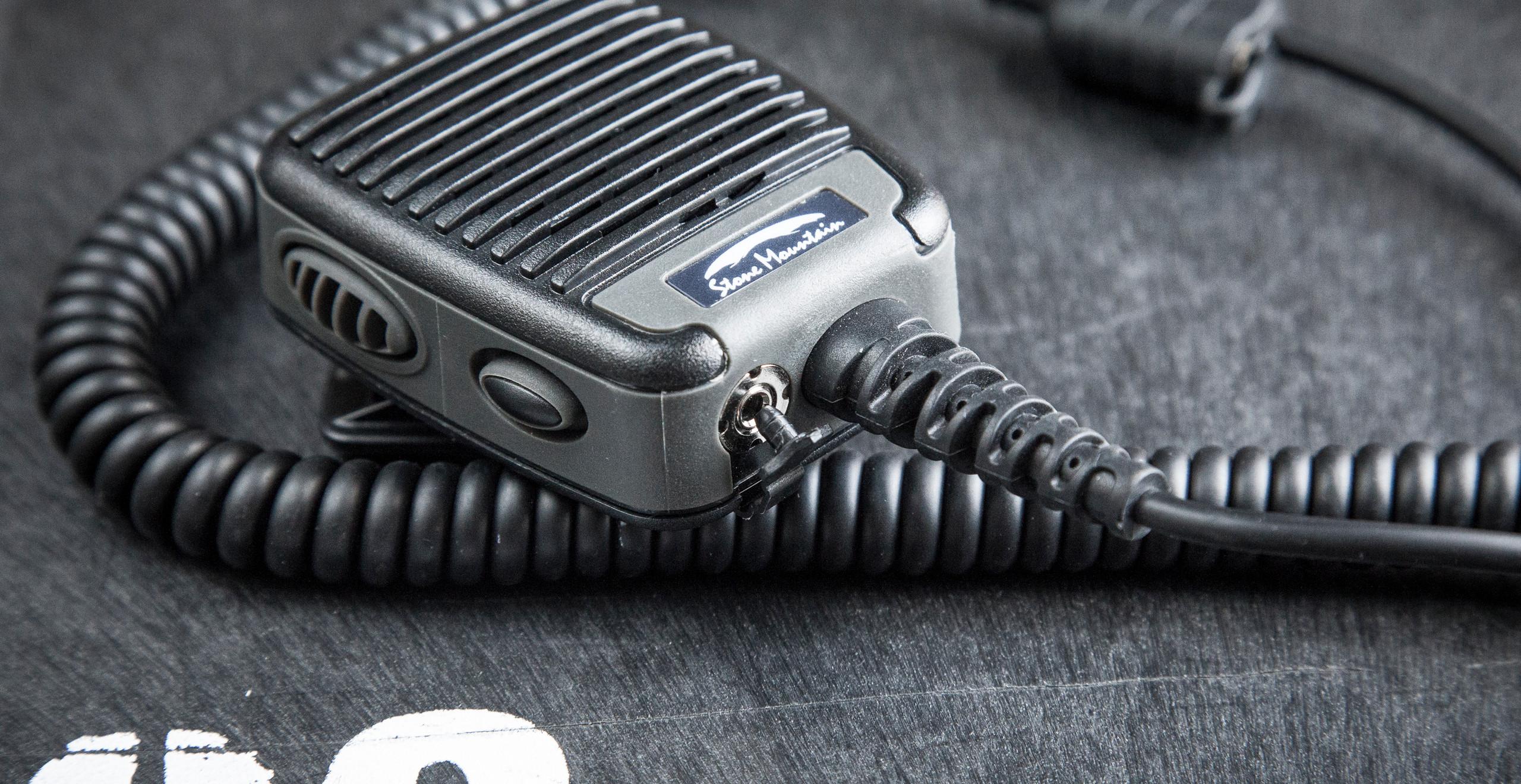 Stone Mountain Ltd Phoenix Elite PoC RSM speaker microphone Blackline simulations airsoft military simulations tactical zello accessories review bottom view