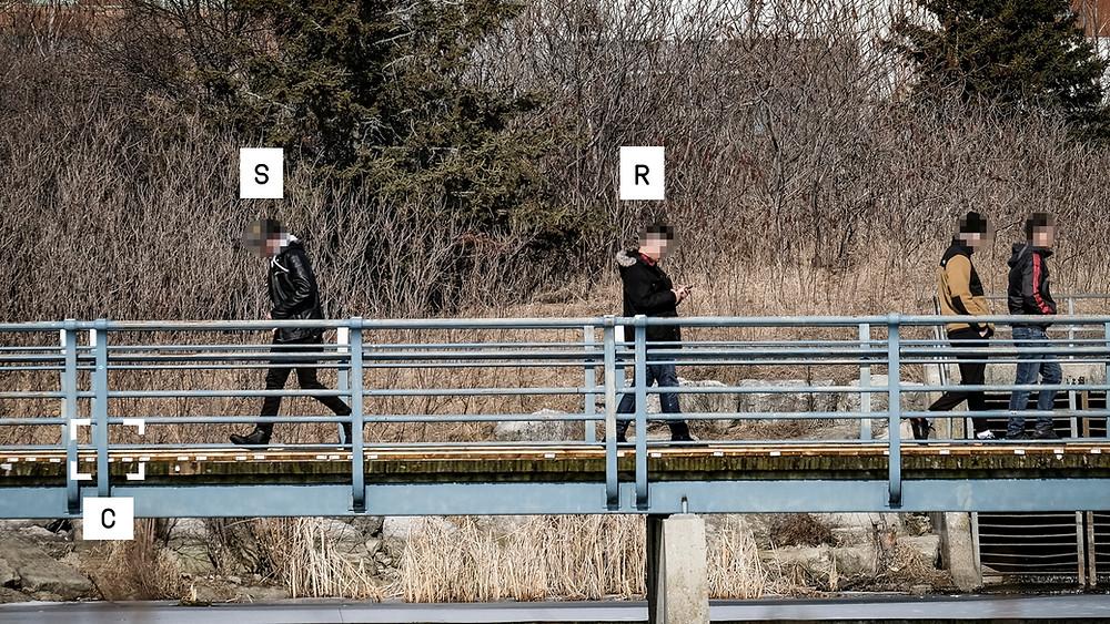 Blackline Simulations - Espionage spy game brush pass on bridge milisim