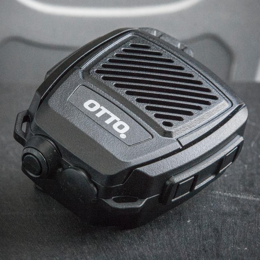 OTTO Bluetooth Revo NC2 Blackline simulations tactical zello accessories speaker microphone STD-MIL-810G bottom airsoft milsim review
