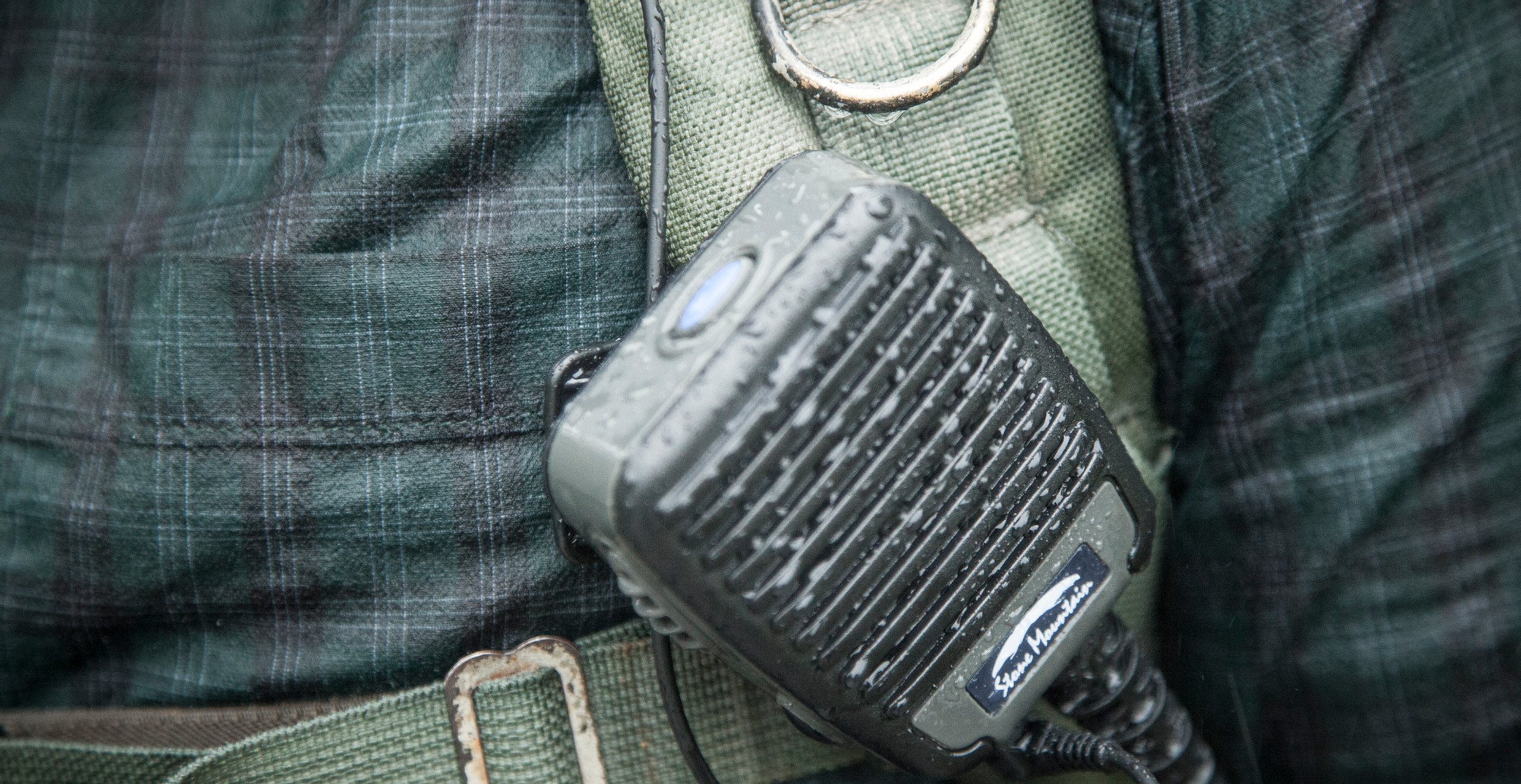 Stone Mountain Ltd Phoenix Elite PoC RSM speaker microphone Blackline simulations airsoft military simulations tactical zello accessories review waterproof