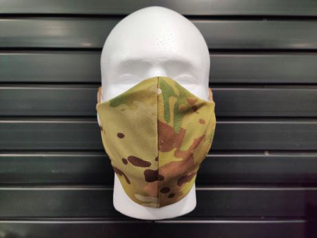 Blackline Simulations - Blog - Tactical face masks covid-19 face covering camouflage balaclava respirator DS Tactical Multicam