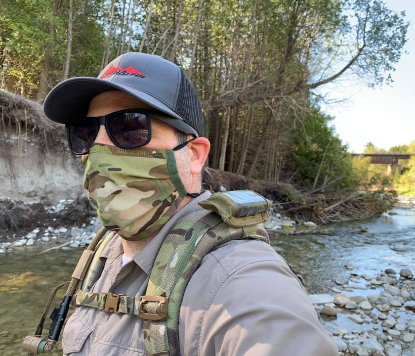 PERSEC Gear Surgical Face Mask Multicam - Blackline Simulations - Blog - Tactical face masks covid-19 face covering camouflage balaclava respirator facemask