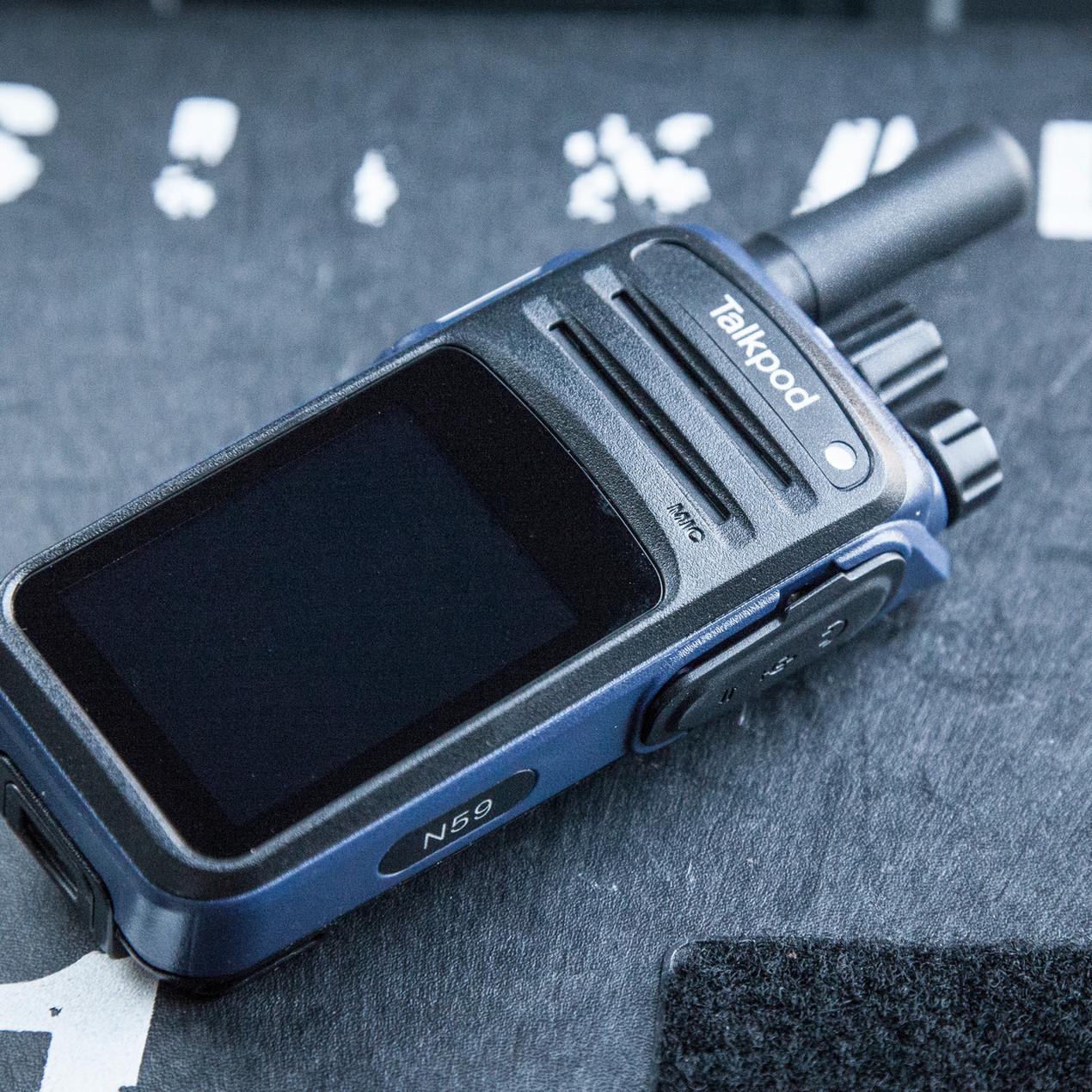Talkpod N59 Network POC radio Blackline Simulations tactical zello accessories airsoft milsim IP54