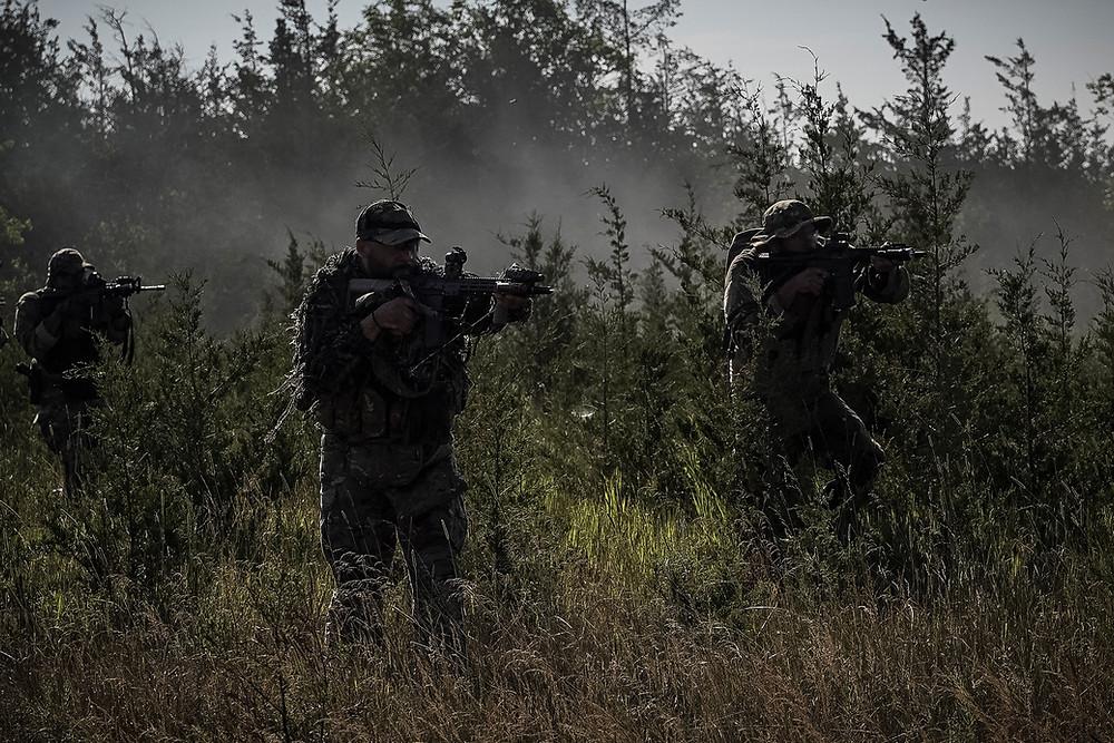 Blackline Simulations Airsoft Team Attacks Airsoft Gun Military Simulation milsim canada canadian milsim