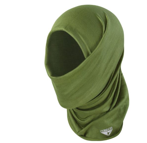 Condor Tactical Multiwrap Blackline Simulations - Blog - Tactical face masks covid-19 face covering camouflage balaclava respirator green