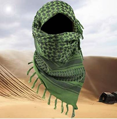 Shemagh - Green Blackline Simulations - Blog - Tactical face masks covid-19 face covering camouflage balaclava respirator