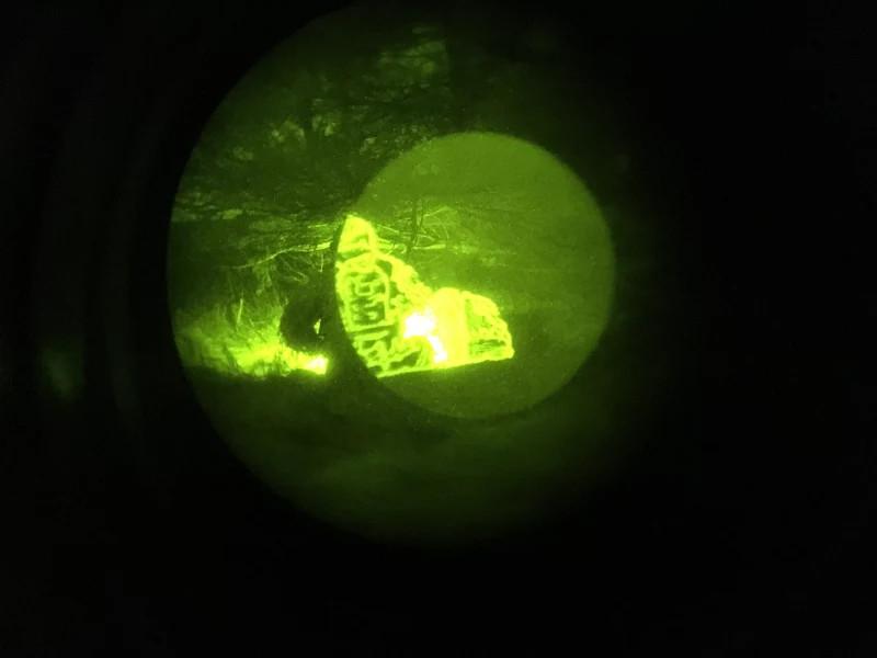 Blackline Simulations airsoft milsim Ontario Canada COTI clip on thermal image night vision nods