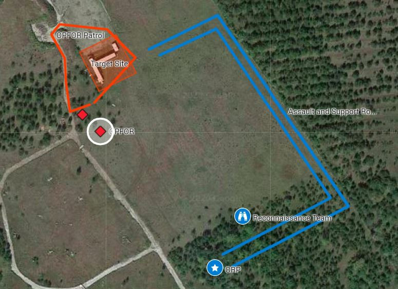 Blackline Simulations Airsoft Military Simulation Milsim Canada Canadian Guns Multicam Map Plan