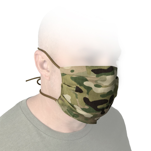 Blackline Simulations - Blog - Tactical face masks covid-19 face covering camouflage balaclava respirator hike your own hike HYOH woodland Marpat Tyr Tactical Multicam Huron DLV