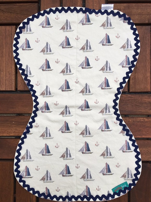 Sailboat Burp Cloth