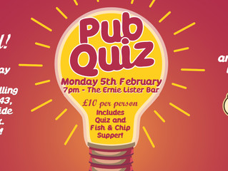 BrixFest February Pub Quiz Fundraiser