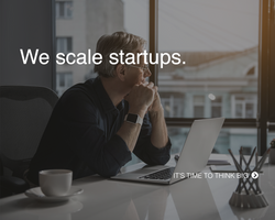 We scale startups.