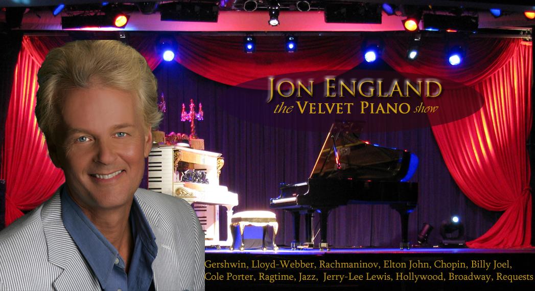 JON ENGLAND AND THE VELVET PIANO