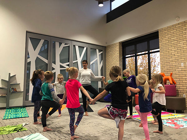 Yoga for ages 9-12, Feb. 29