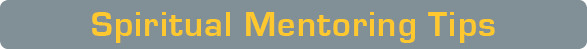 Spiritual Mentoring Tips Blog Top