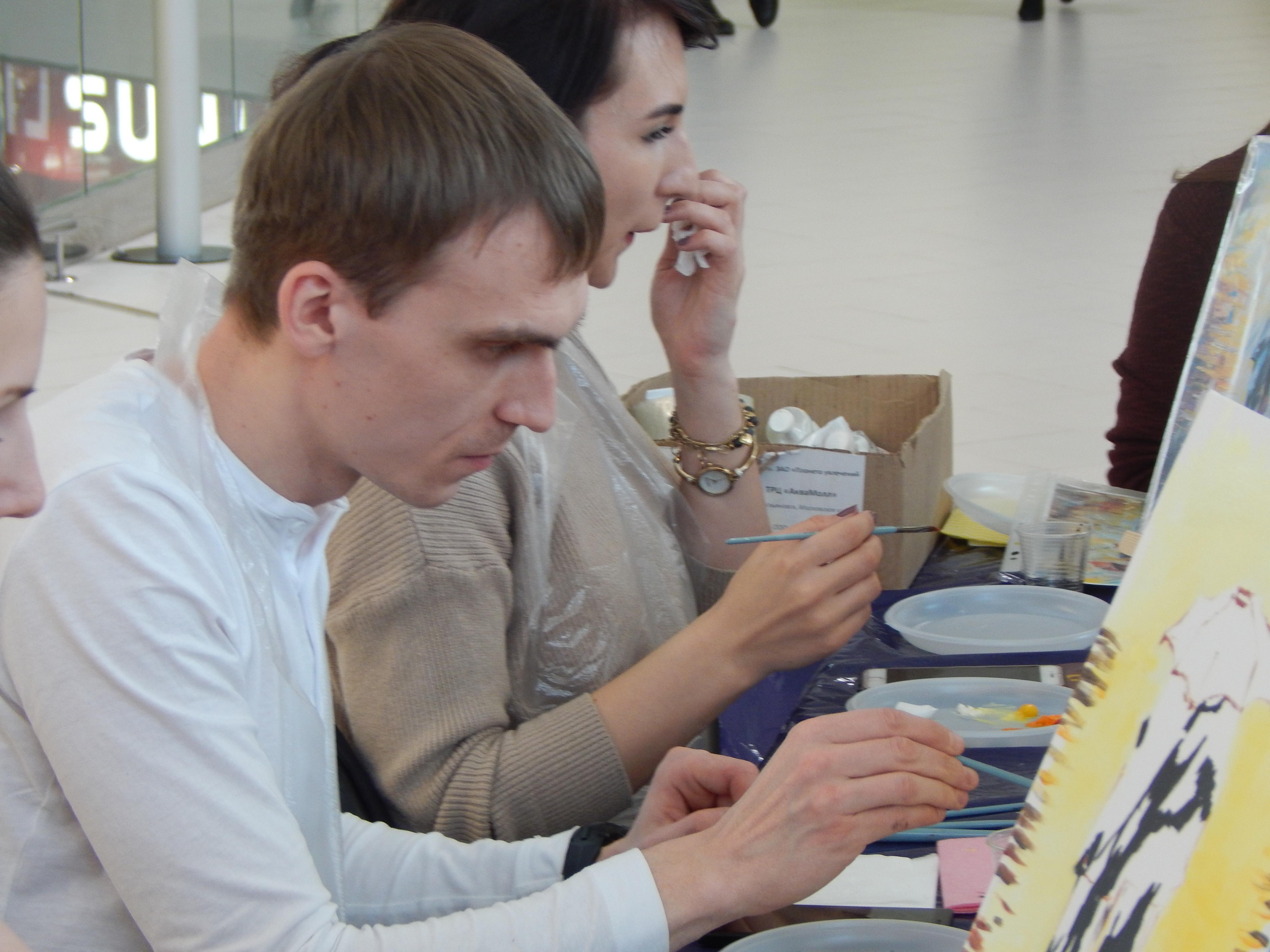 Мастер-класс по живописи Ульяновск