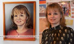 Портрет в подарок учителю