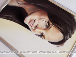 Портрет девушки пастелью