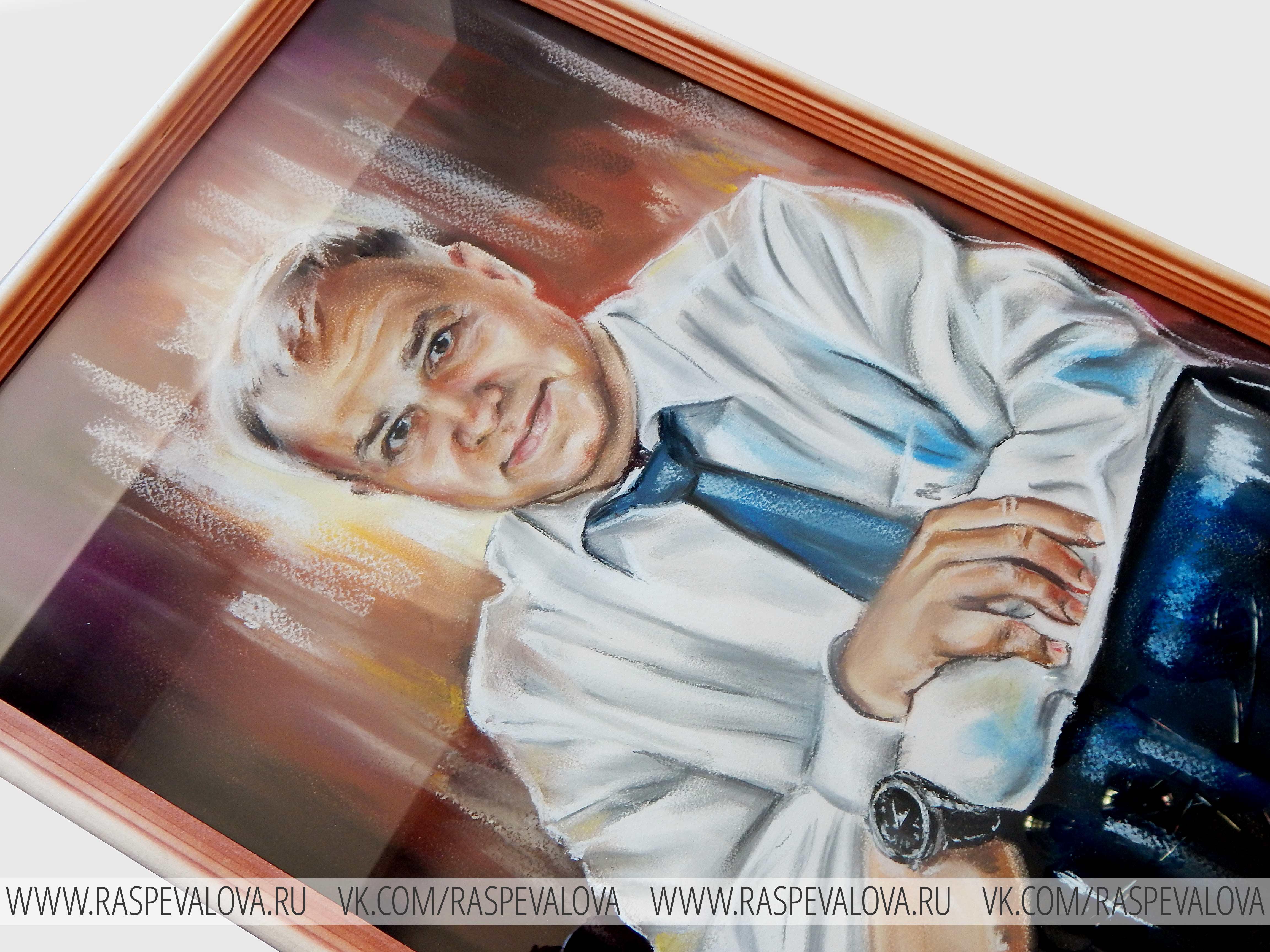 Портрет в подарок папе