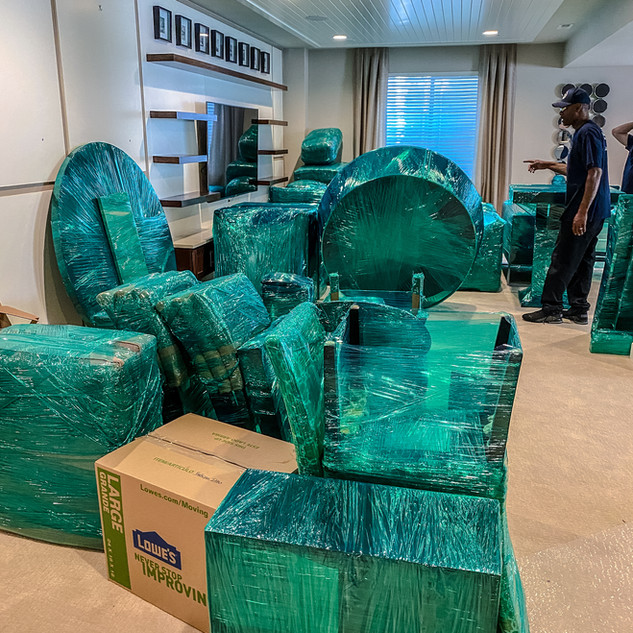 Great company and excellent service. Our office move took over 5 hours and the two guys worked non-stop. Even after I suggested they take a break for lunch. Great price and exceptional service. Will use them again for personal and business use.  - Shamera Loose