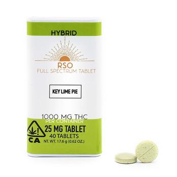 25mg Tablets - Hybrid - Key Lime Pie