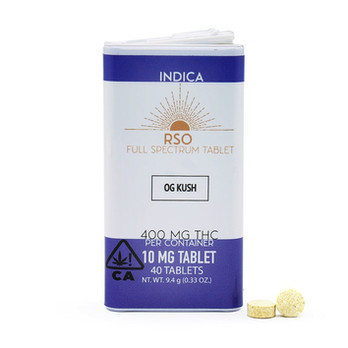 10mg Tablets - Indica - OG Kush