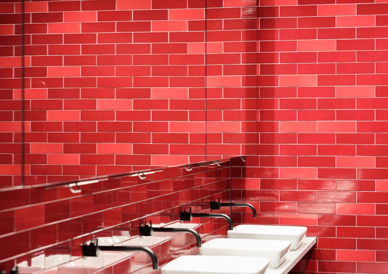 FBT Brick Slip Red