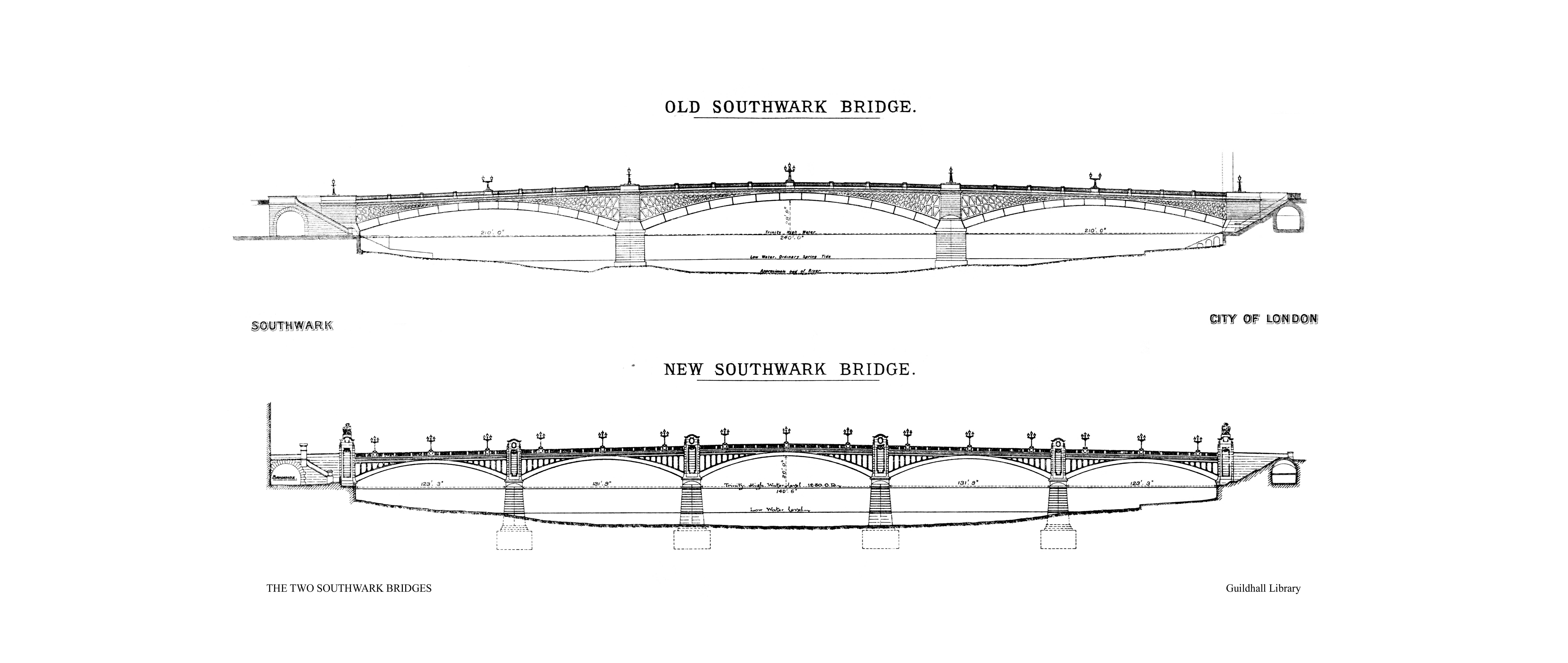 Southwark Bridge Underpass