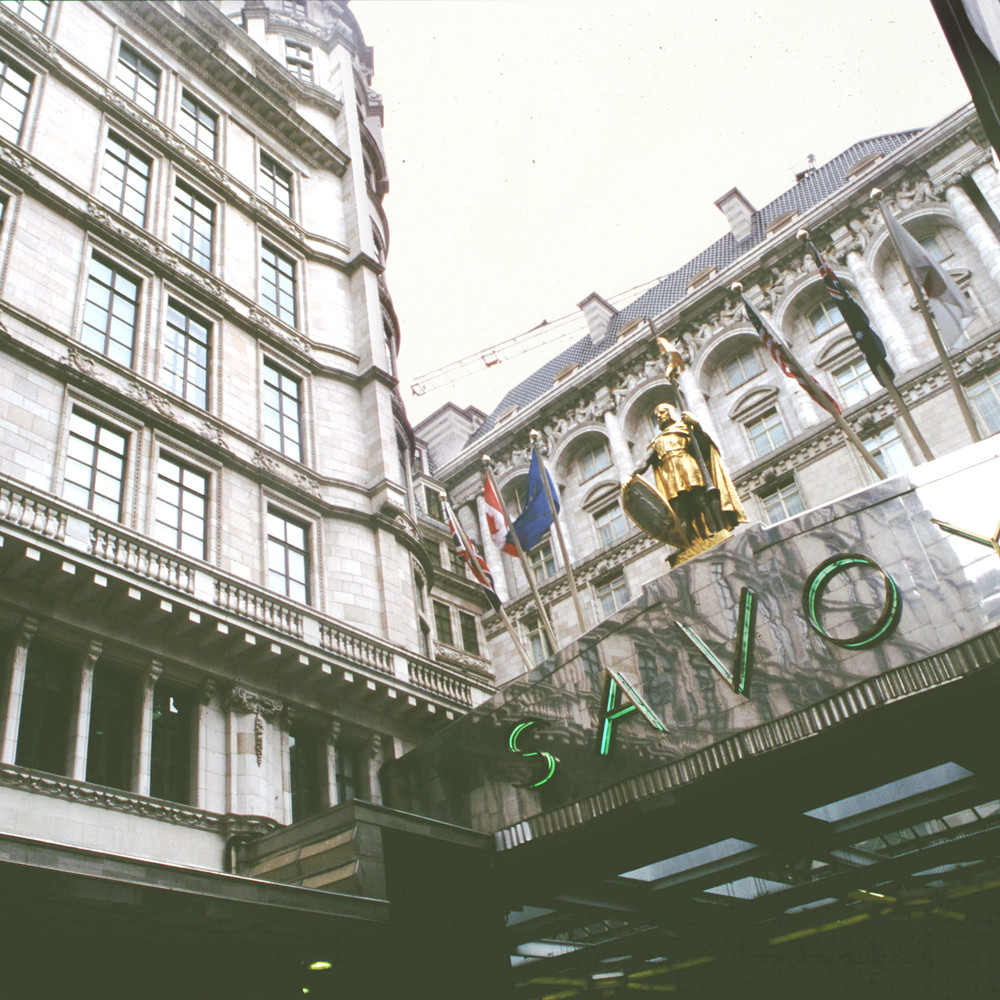 Savoy Hotel, London