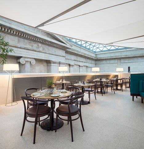 British Museum Great Court Restaurant, London
