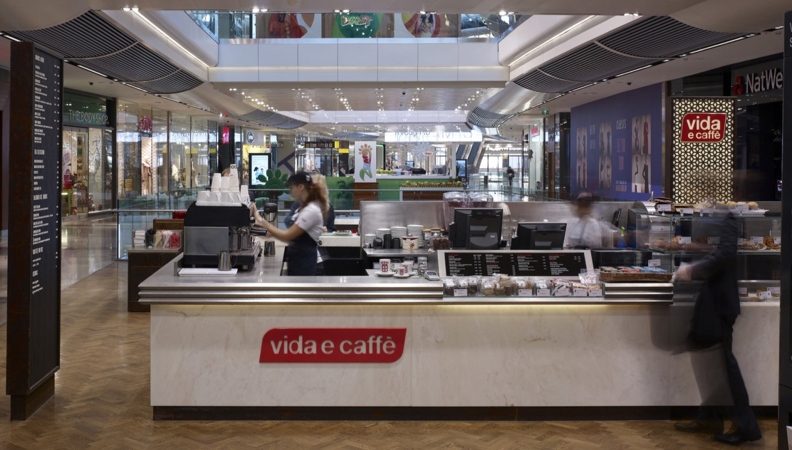 Vida e Caffe, Westfield Stratford 6
