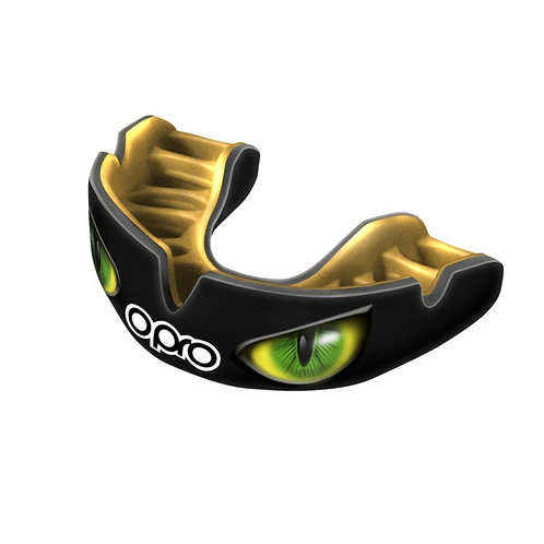 Opro Power Fit Green Eyes Mouthguard - Adults
