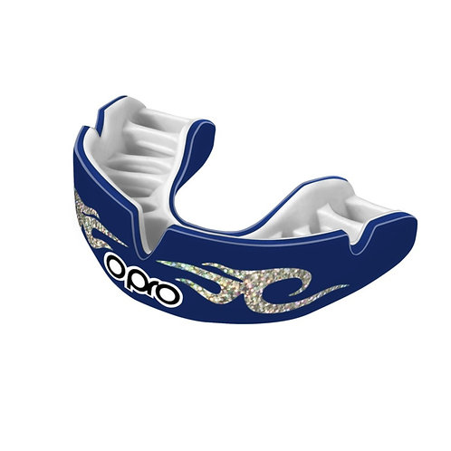 Opro Power Fit Blue Urban Mouthguard - Adults