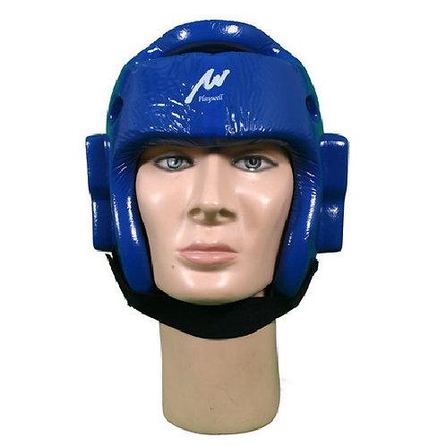 Dipped Foam Headguard ( Single Layer ) - Blue