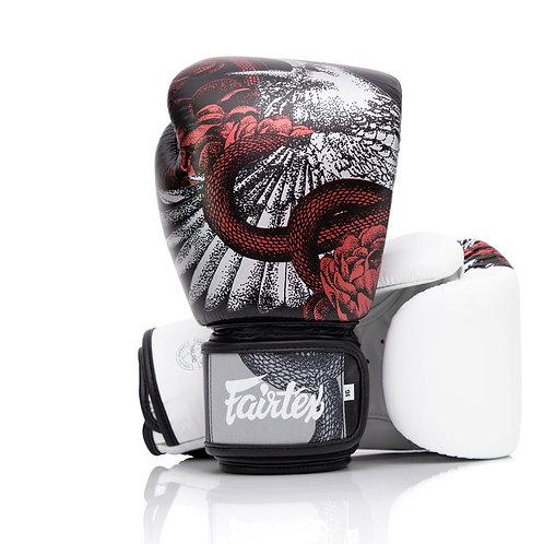 Fairtex BGV24 Beauty of Survival Leather Boxing Gloves
