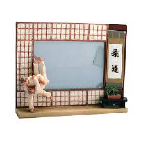 Photo Frame: Resin: Judo