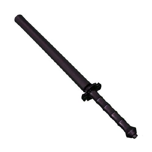 "Black Polypropylene Full Contact Foam Padded Chanbara Sword 27"""